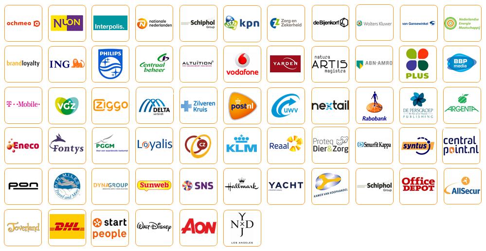 Logos deelnemers Masterclass